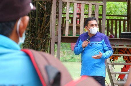 Tim ZI Lapas Yogyakarta Sosialisasikan WBK dengan Gowes Bersama