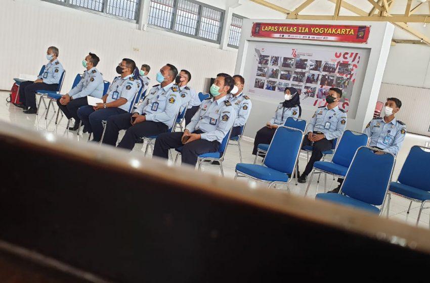 Siap Raih WBK, Tim ZI Lapas Yogyakarta Ikuti Entry Meeting