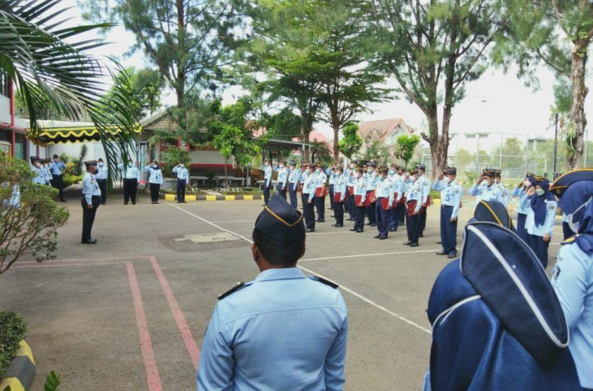 30 Petugas Lapas Yogyakarta Terima Satyalancana Karya Satya