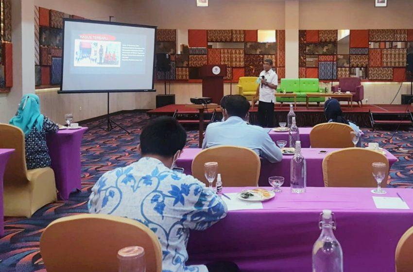 Menjadi Peserta Workshop, Lapas Yogyakarta Menerima Apresiasi dari BNNK Yogyakarta