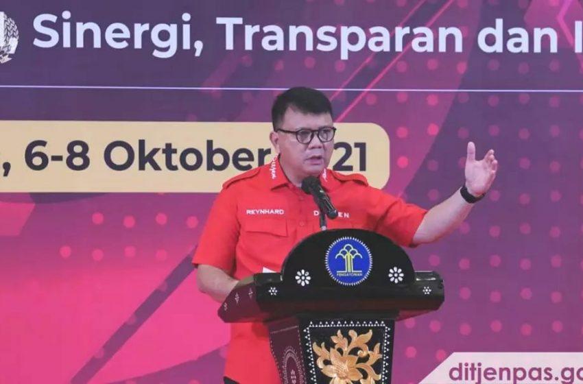Kalapas Yogyakarta dan Jajaran Ikuti Rakernispas Secara Virtual