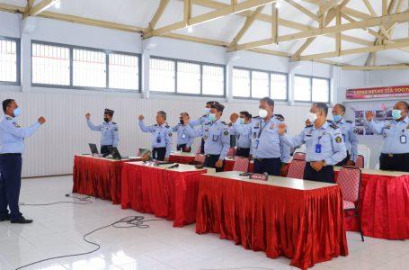 Simulasi TPN, Lapas Yogyakarta Tampil Percaya Diri di Hadapan Inspektorat Jenderal